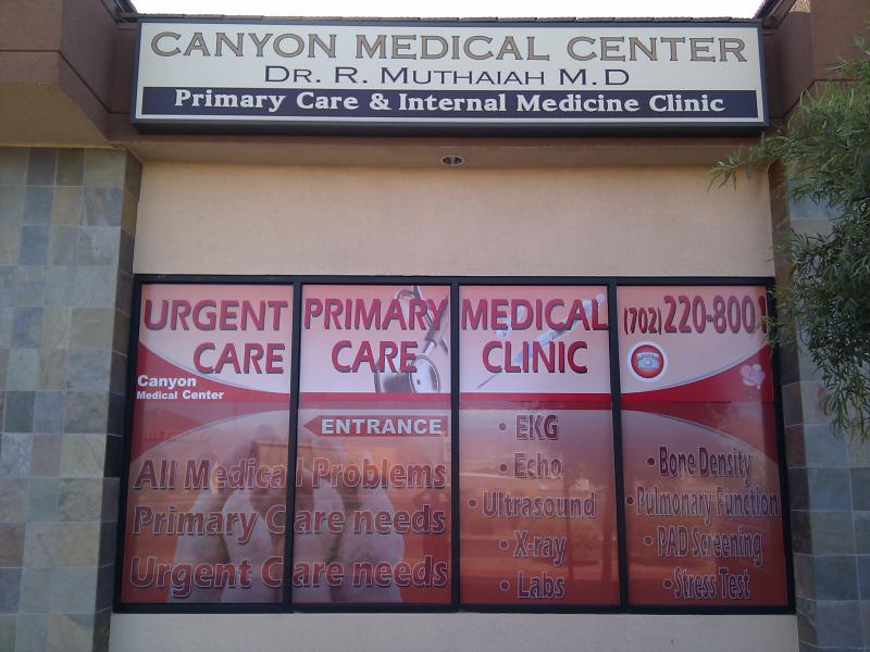 vegas doctor urgent care emergency care primary care walk in clinic after hours